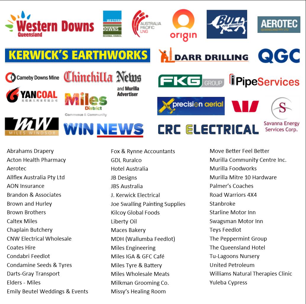 Sponsors List for Website