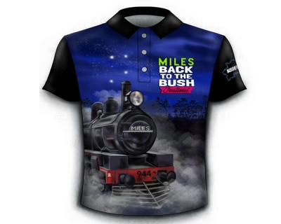 merchandise Shirt Blue 2021 front