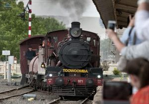 Downs Explorer steam train